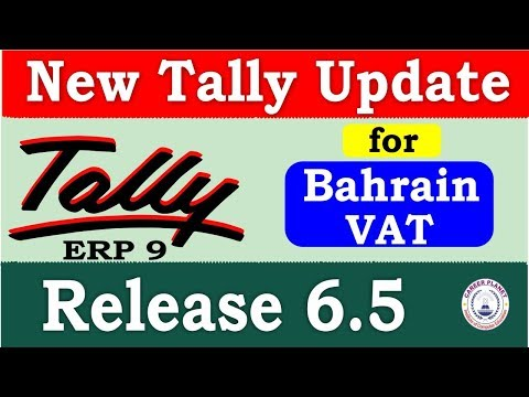 Tally ERP 9 Release 6.5 New Tally Update | Download Latest Tally Version