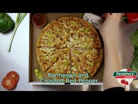 Buffalo Ranch Chicken Pizza - Sarpino's Pizzeria Video
