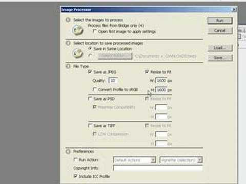 Photoshop CS3 - Intro To Image Processor
