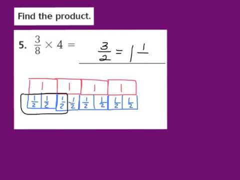 Lesson 7.2 Multiply Fractions and Whole Numbers