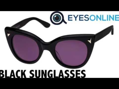 Black Sunglasses Collection - EYESONLINE