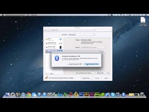 How To Setup Bluetooth Mouse on Apple Mac OS X Macbook [HD] 2017