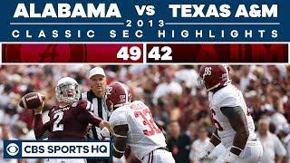 Alabama vs Texas A&M 2013 | Classic SEC Highlights | CBS Sports HQ