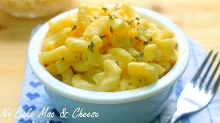 No Bake Mac And Cheese 4 Basic Ingredients
