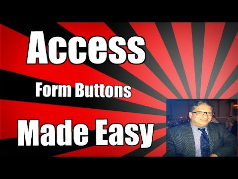 Creating a button on an access form to increment number 2007 2010 2013 2016 Access command button