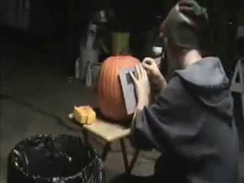 Jack-O-Lantern Time Lapse