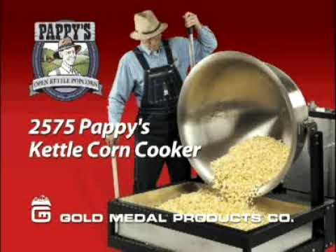 Kettle Corn popcorn making by Gold Medal & ConcessionObsession