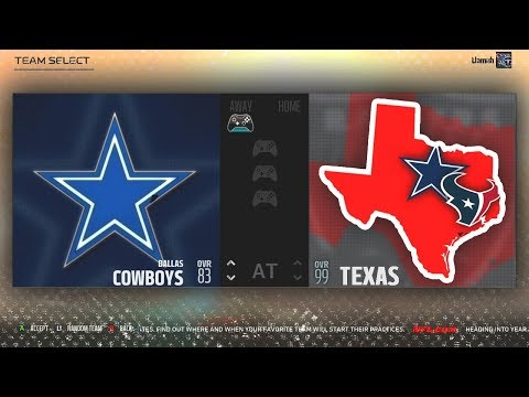 What If Every NFL Team From TEXAS Combined Into One SUPER Team? Madden NFL