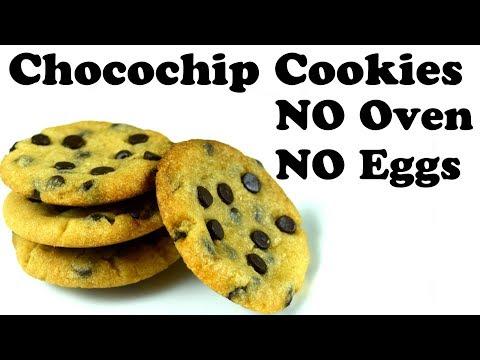 CHOCOCHIP COOKIES Without Oven in  Cooker| इडली स्टैंड में बनाये टेस्टी बिस्किट | Yummylicious