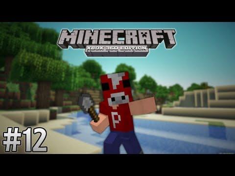 Minecraft Survival (Xbox 360) #12: My Shovel is My Sword