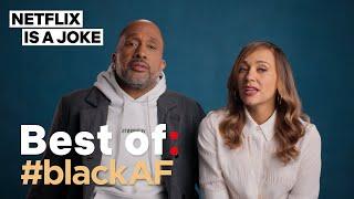 7 Black AF Scenes From #blackAF Season 1 | Netflix Is A Joke