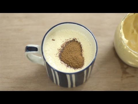 How to Make a Cappuccino II Cappuccino Coffee Recipe, without coffee maker