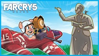 TEACHING VANOSS How to Play FAR CRY 5! (Far Cry 5 Funny Moments Gameplay)