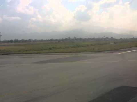 Flight Taking off from Tribhuvan International Airport, Nepal