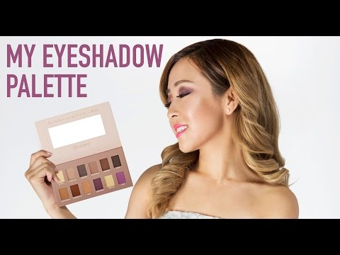 My Eyeshadow Palette | Be By Bubzbeauty