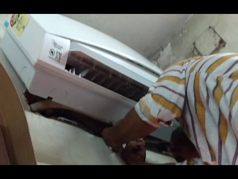 How to Check Gas Leak in Split AC Indoor Unit | Panasonic AC Indoor Unit Gas Leakage Test