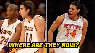 5 Forgotten NBA Role Players! What Happened to their NBA Career?
