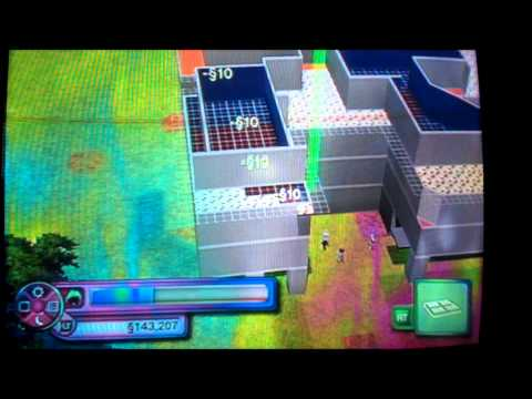 Sims 3 house building xbox 360 part 1: Building the shell tutorial
