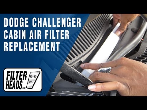 How to Replace Cabin Air Filter Dodge Challenger