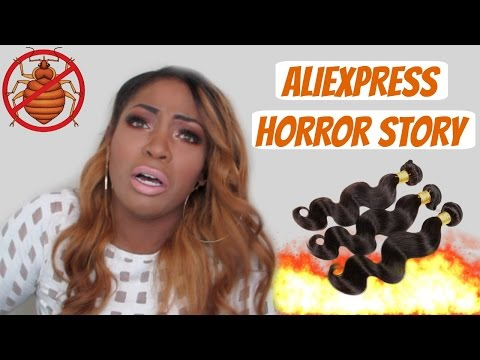 STORY TIME : MY ALIEXPRESS HORROR STORY....BEDBUGS!!