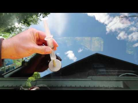 How to Fix a Cracked Windshield with Permatex Repair Kit