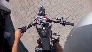 Pit Bike Adventures | EP 1 // Motovlog,Trails, Abandoned Buildings
