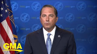 HHS secretary warns 'window closing' to stop COVID-19 l GMA