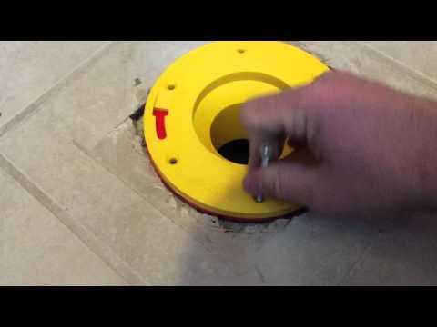 Set-Rite Toilet Flange Extender Installation