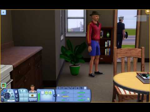 The Sims 3 - Pooping on... A PLANT?