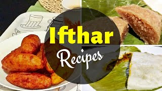Iftar Recipes / Unnakkai, Chemeen(Prawns) Pathiri, Wheat Ela Ada / Ramadan Recipes