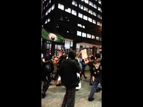 Chicago Million Mask March Federal Plaza