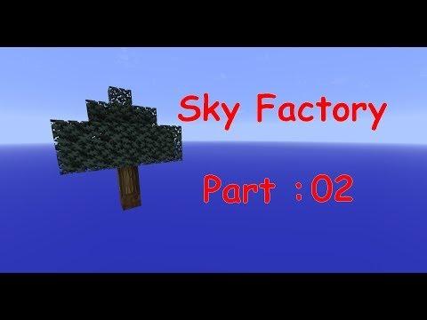 Minecraft - Sky Factory - Part 02 - One man, one barrel