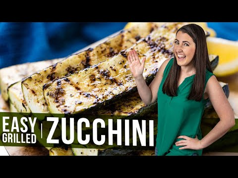 How to Make Easy Grilled Zucchini | The Stay At Home Chef