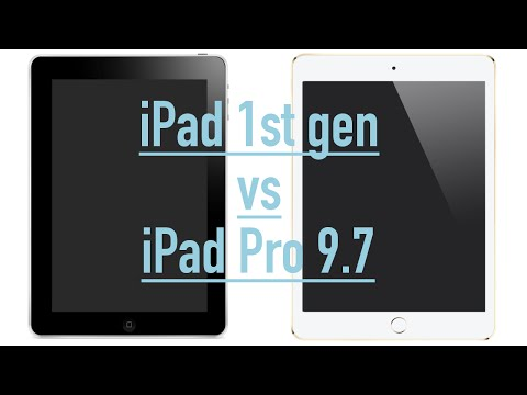 Apple iPad Pro 9.7 vs 1st Gen iPad | How much has changed?