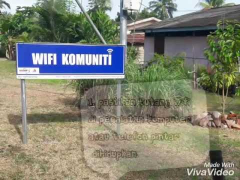 Cara menggunakan wifi komuniti