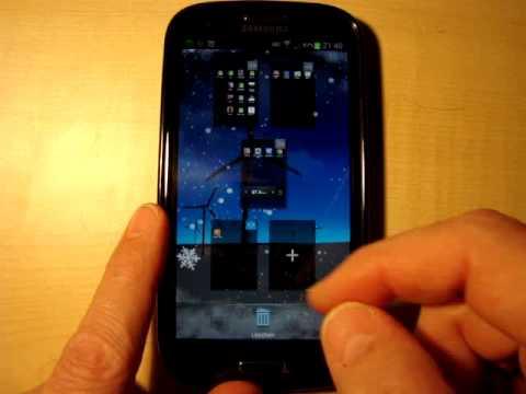 Samsung Galaxy S3 Homebildschirm anpassen und APPs kategorisieren