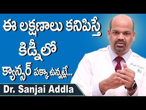 These Are Symptoms Of Kidney Cancer | Kidney Disease in Telugu | Dr Sanjai Addla | Doctors Tv