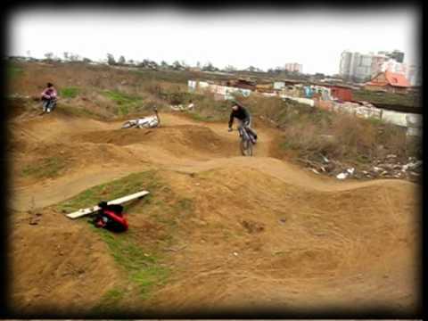Pump track, Ilichevsk, Ukraine