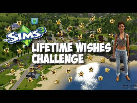 How to change your lifetime wish on sims 3 xbox 360 -