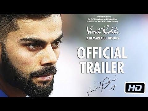 VIRAT - The Run Machine Movie Official Trailer I Virat Kholi I Amyra Dastur