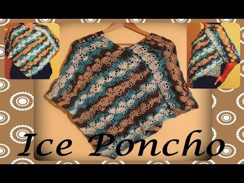Crochet An Easy Ice Poncho