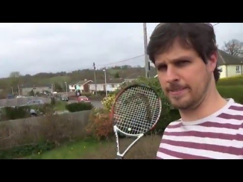 Hit Head with Tennis Racket