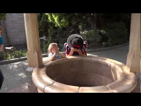 A Military Reunion Surprise at Snow White's Wishing Well for Alyssa & Liam at Disneyland.