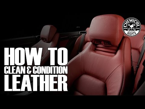 How To Clean & Condition Leather - Chemical Guys Leather Care