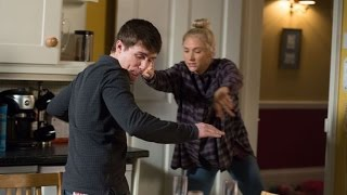 EastEnders - Ollie Gets Caught Up In Lee And Nancy's Fight