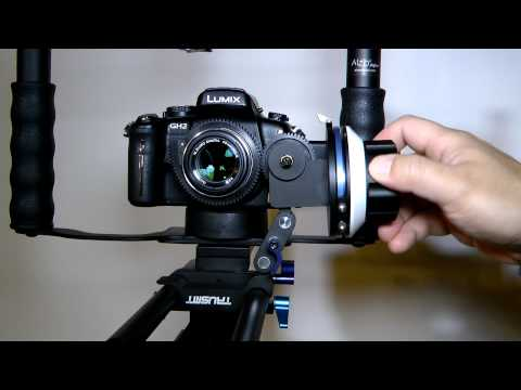 How to add follow focus to micro four thirds Olympus 45mm F1.8 small prime lens DSLR 4/3
