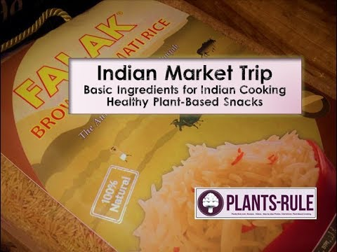 Indian Market Trip with Healthy Ingredient Essentials