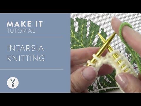 Intarsia Knitting Tutorial
