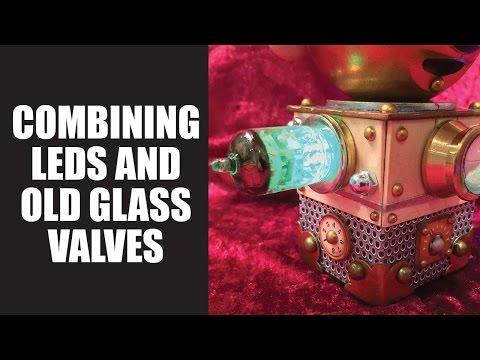 How to: DIY Steampunk valves with LED lights