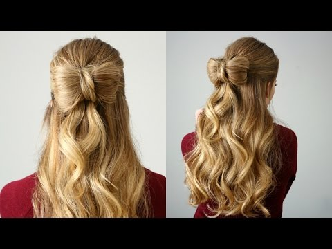 Half Up Hair Bow | Missy Sue